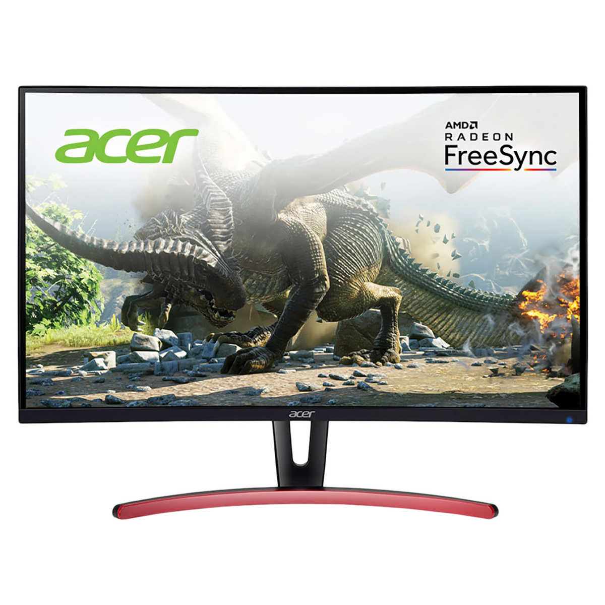 Acer 27 Class Curved Wqhd Freesync Gaming Monitor
