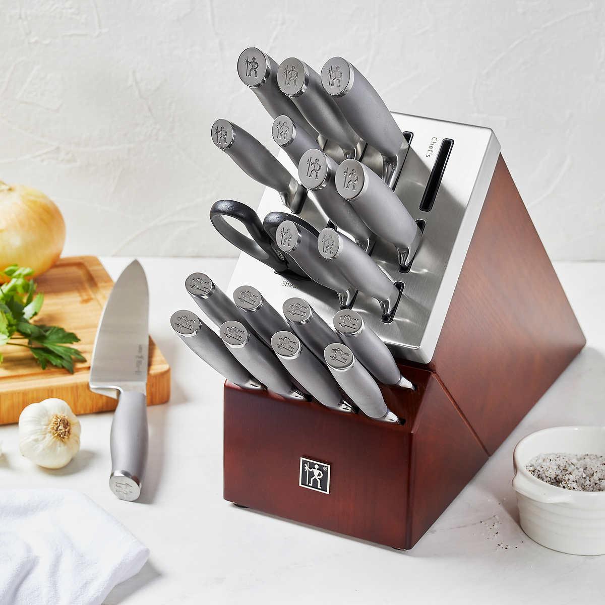 Henckels Modernist 20 Piece Self Sharpening Knife Block Set