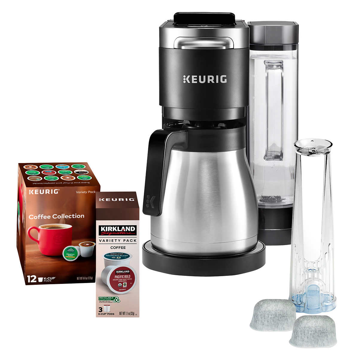 Keurig K-Duo Plus C Coffee Maker, Single Serve K-Cup Pod ...