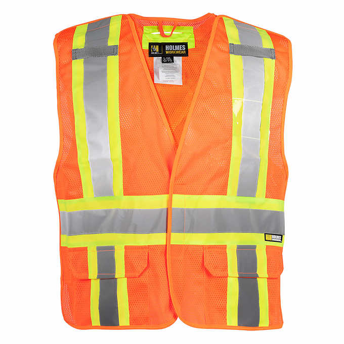 High Visibility Class III Vest 5 Point Tear Away in your choice of sizes