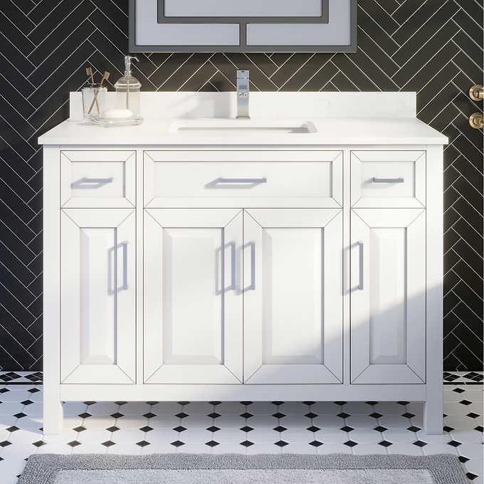 Thomson 48 Vanity By Studio Bathe Costco, Bathroom Vanities 48 Inches