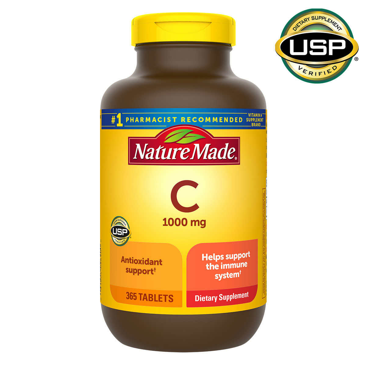 Nature Made Vitamin C 1,000 mg., 365 Tablets