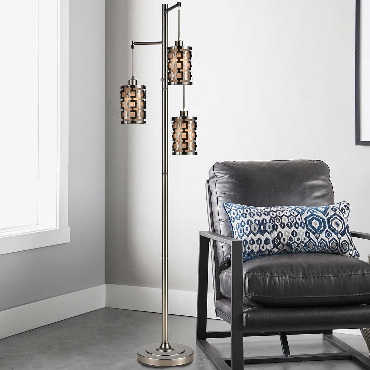 Neptune 3 Light 73 Floor Lamp