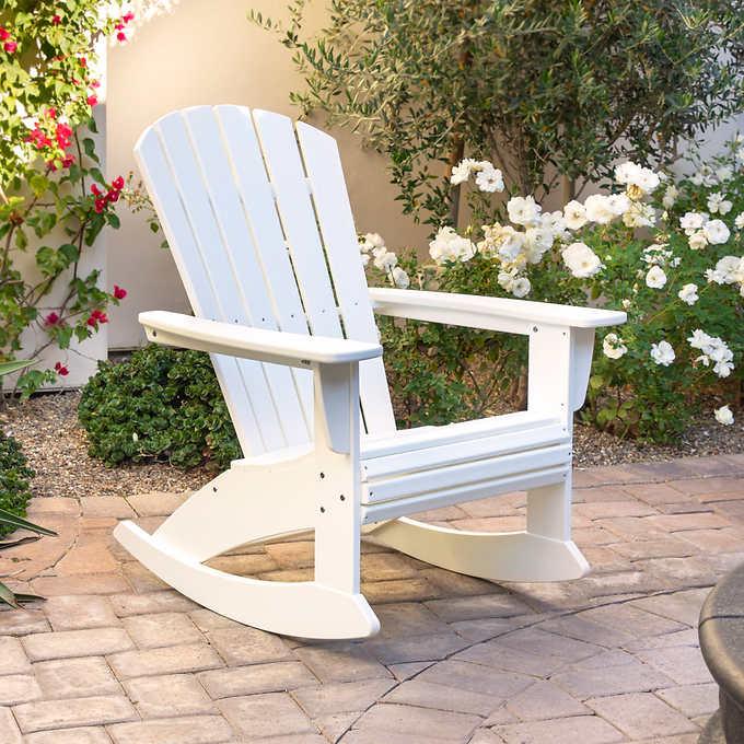 Portside Shellback Adirondack Rocking Chair