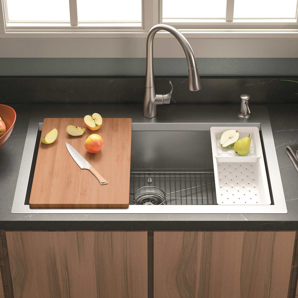 Kohler Cater Accessorized Kitchen Sink