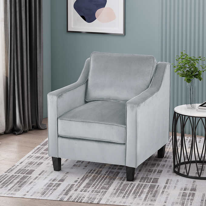 Milo Fabric Accent Chair Costco, Living Room Chair