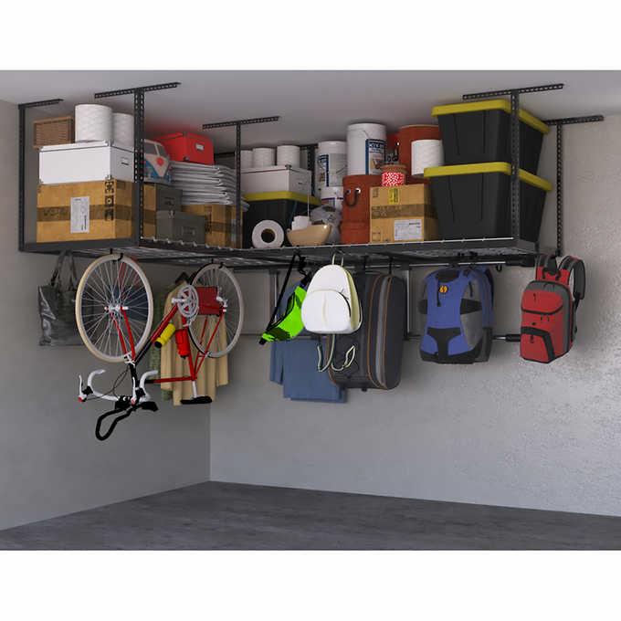 Saferacks Overhead Garage Storage Combo, Overhead Garage Storage Rack Accessories
