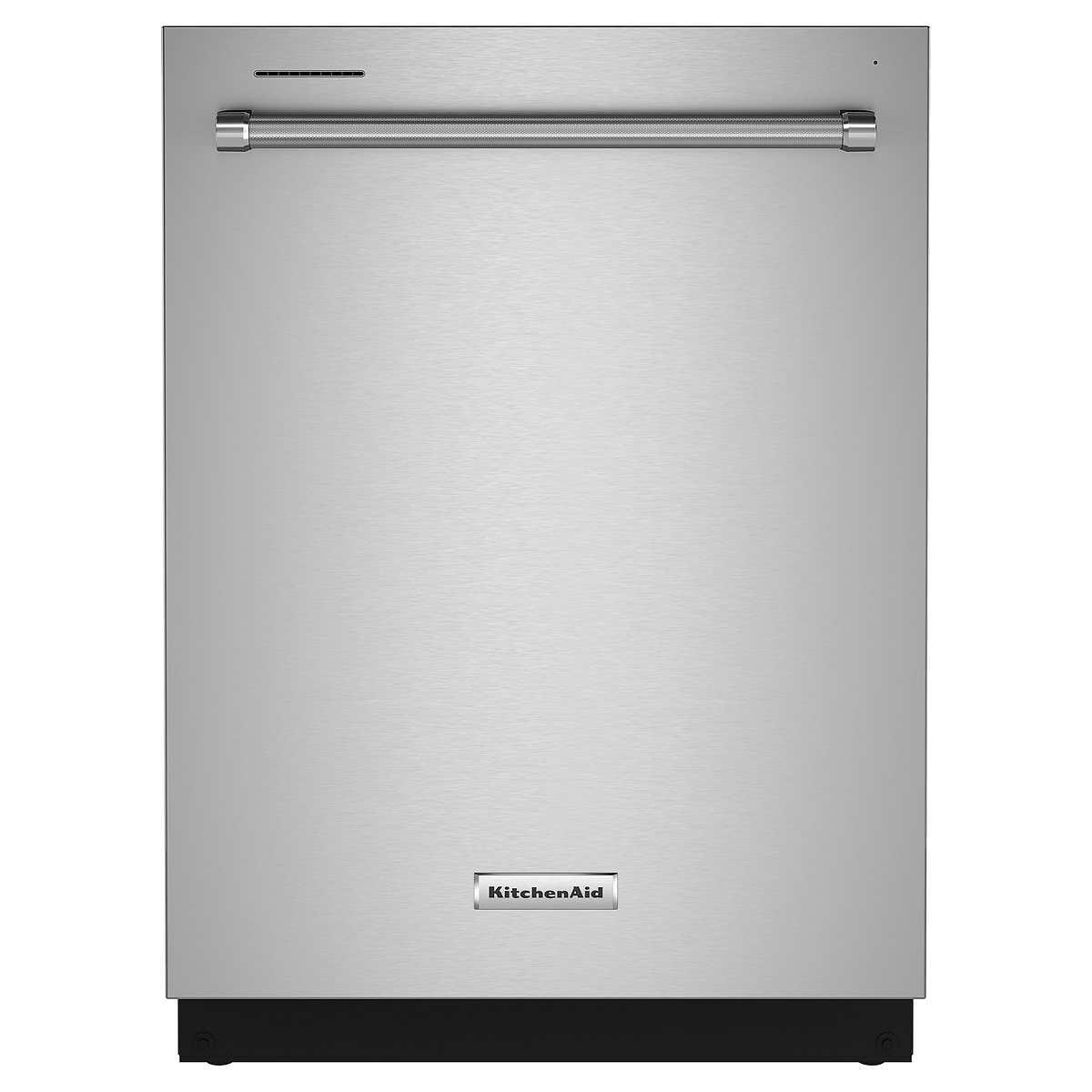 KitchenAid Hidden Control Dishwasher with FreeFlex Third Level Rack and  Express Wash Cycle