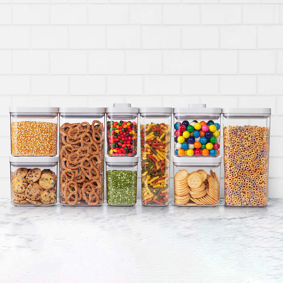 Oxo Softworks 9 Piece Pop Container Set