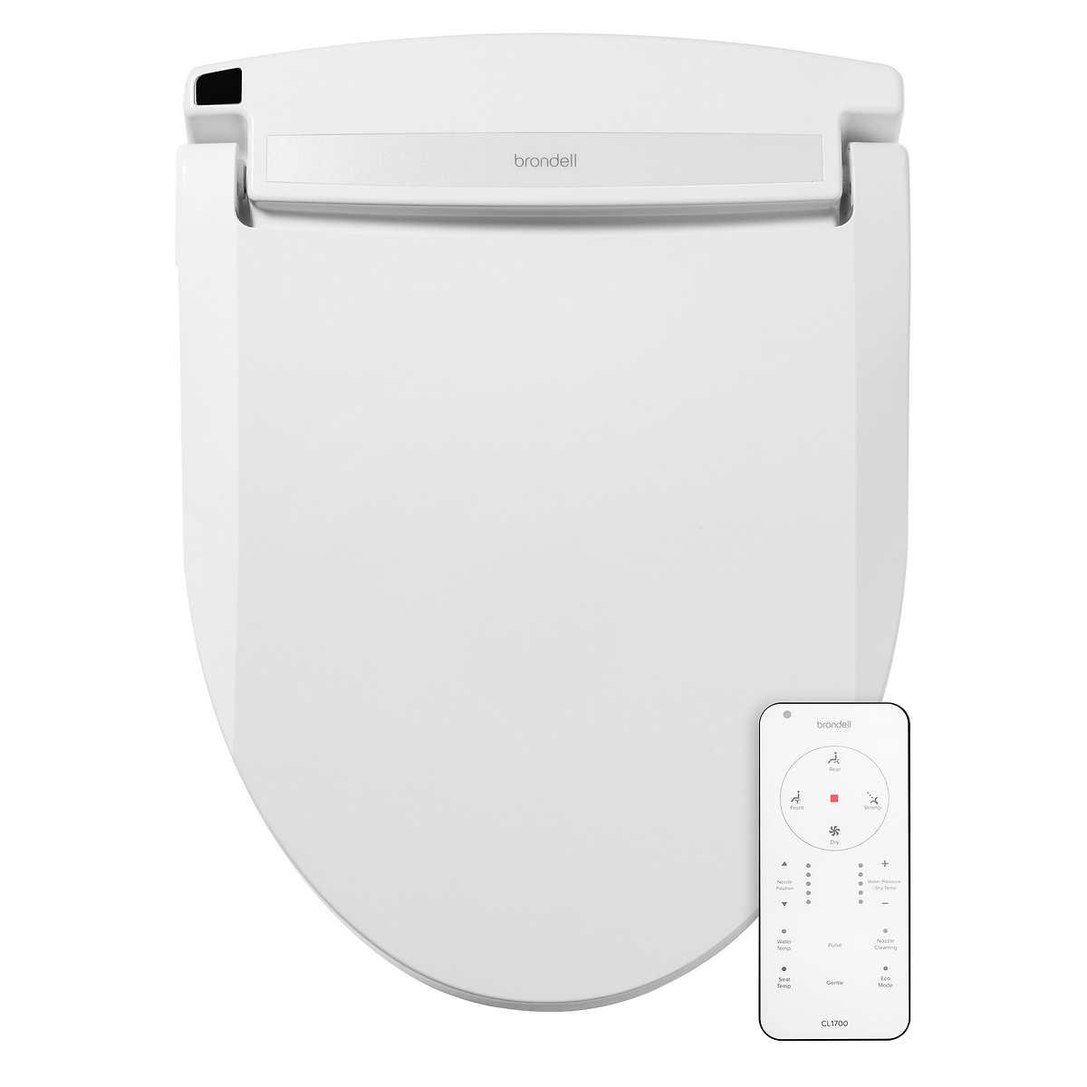 Brondell Swash Cl1700 Bidet Toilet Seat