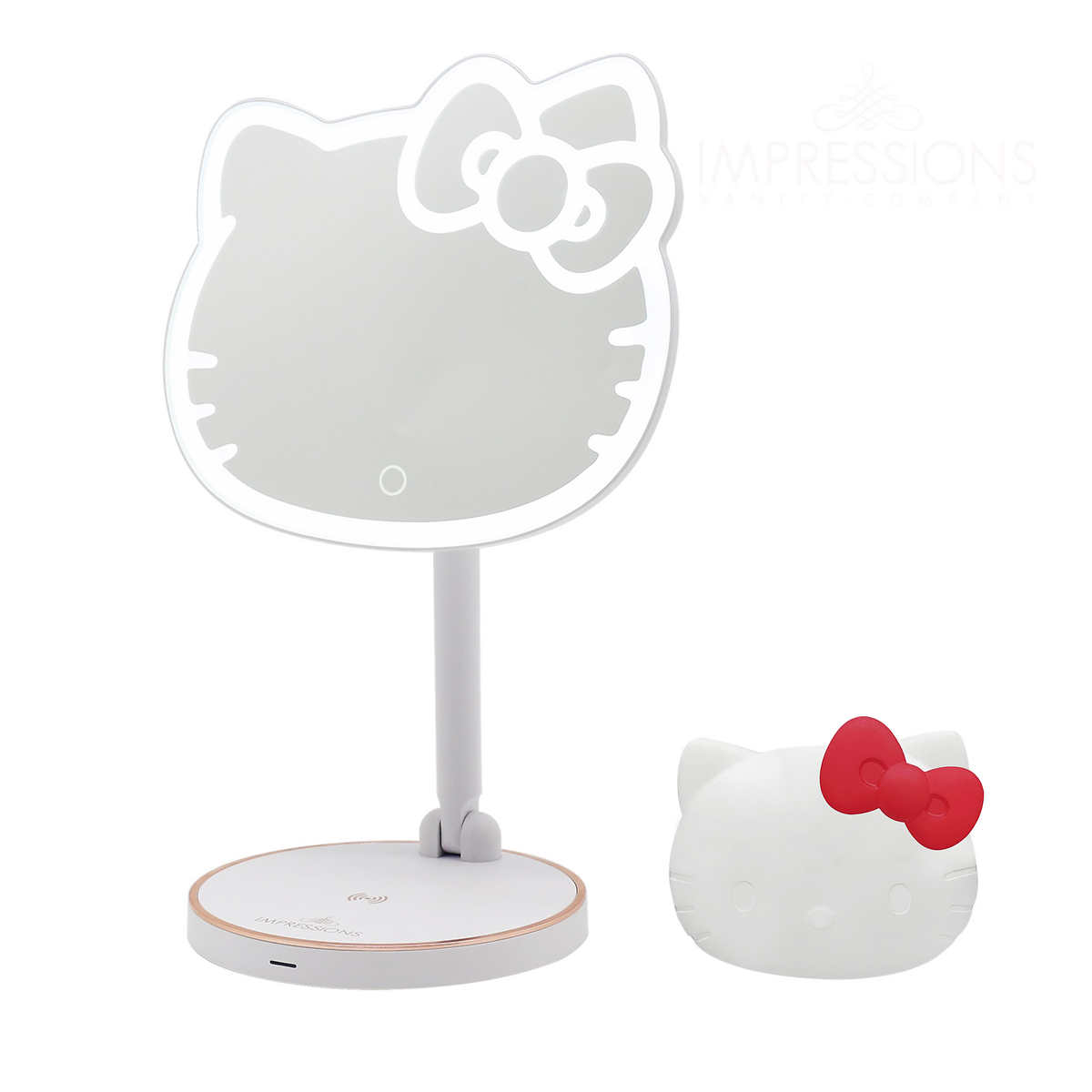 Impressions Vanity Hello Kitty Led Mirror Compact