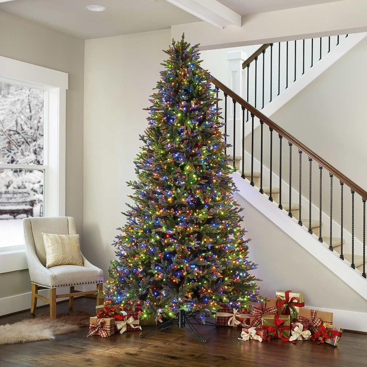 9 Pre Lit Micro LED Artificial Christmas Tree