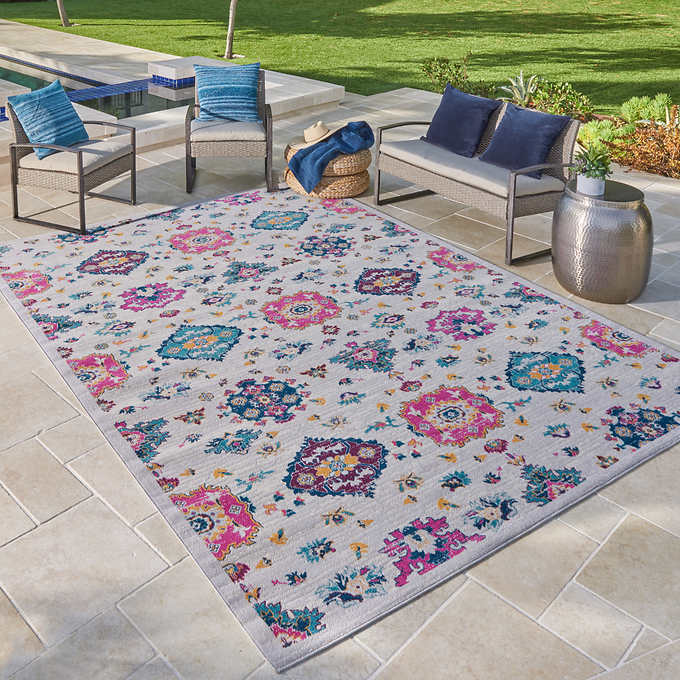 Venice Indoor Outdoor Area Rug Collection Coyle