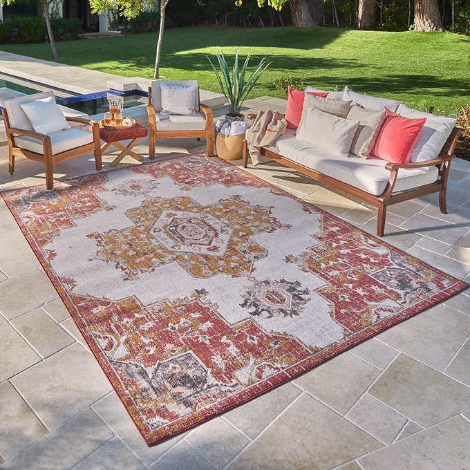 Venice Indoor Outdoor Area Rug Collection Vera