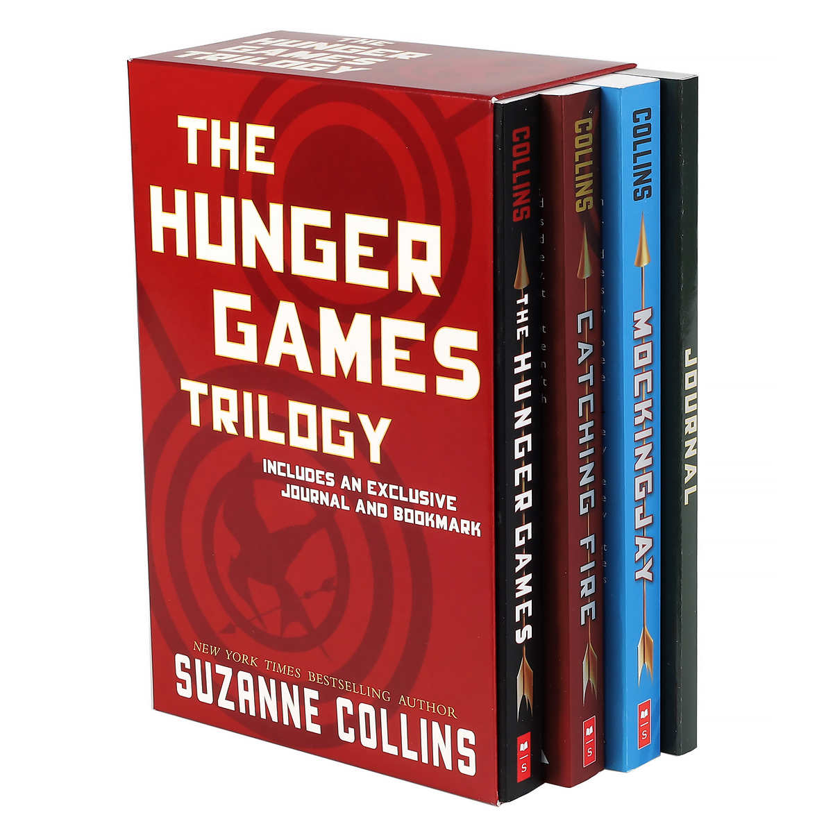 The Hunger Games Trilogy: 3 Books and Journal Box Set