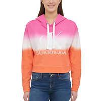 Calvin Klein Jeans Ladies Dip Dye Hoodie Deals