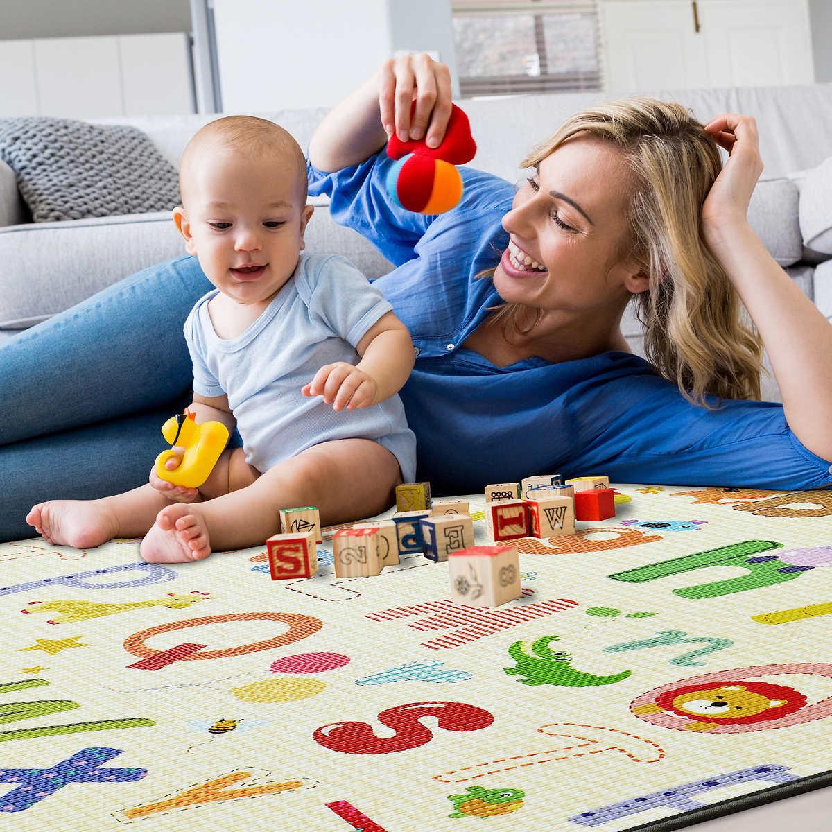 eckhert kids double sided play mat