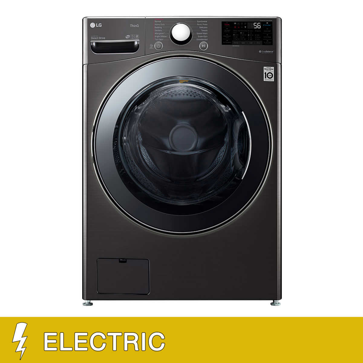 Lg 4 5 Cu Ft Combination Front Load Washer Dryer With Allergiene Cycle