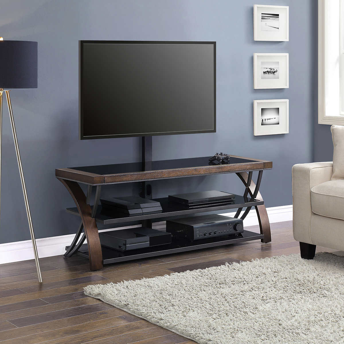 Burkedale 56 3 In 1 Tv Stand