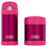 Deals on Thermos FUNtainer Bottle and Food Jar Lunch Set