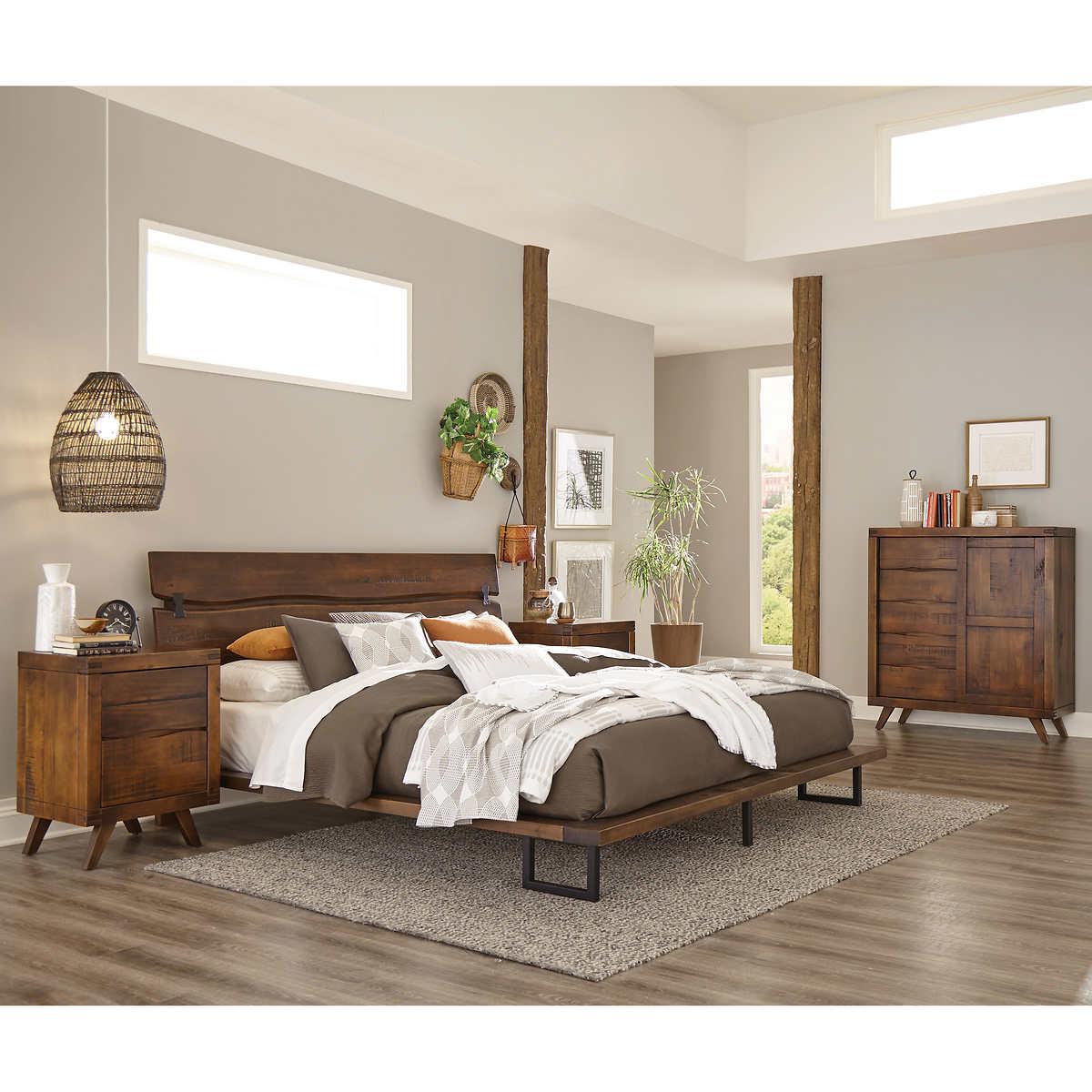 Aiden 4 Piece Queen Bedroom Set