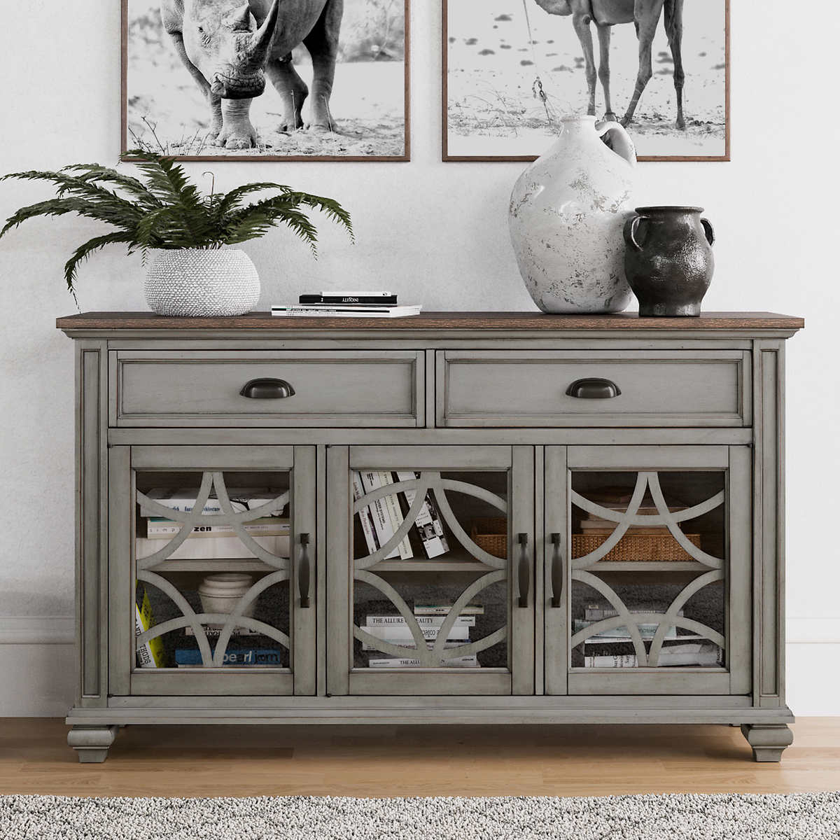 Ginny 55 Accent Cabinet