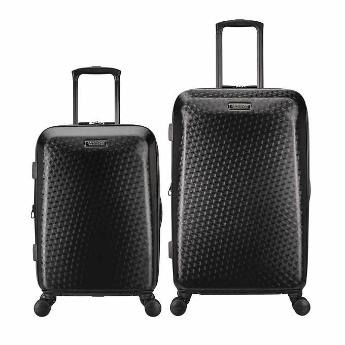 American Tourister Moonlight 2 Piece Hardside Spinner Luggage Set