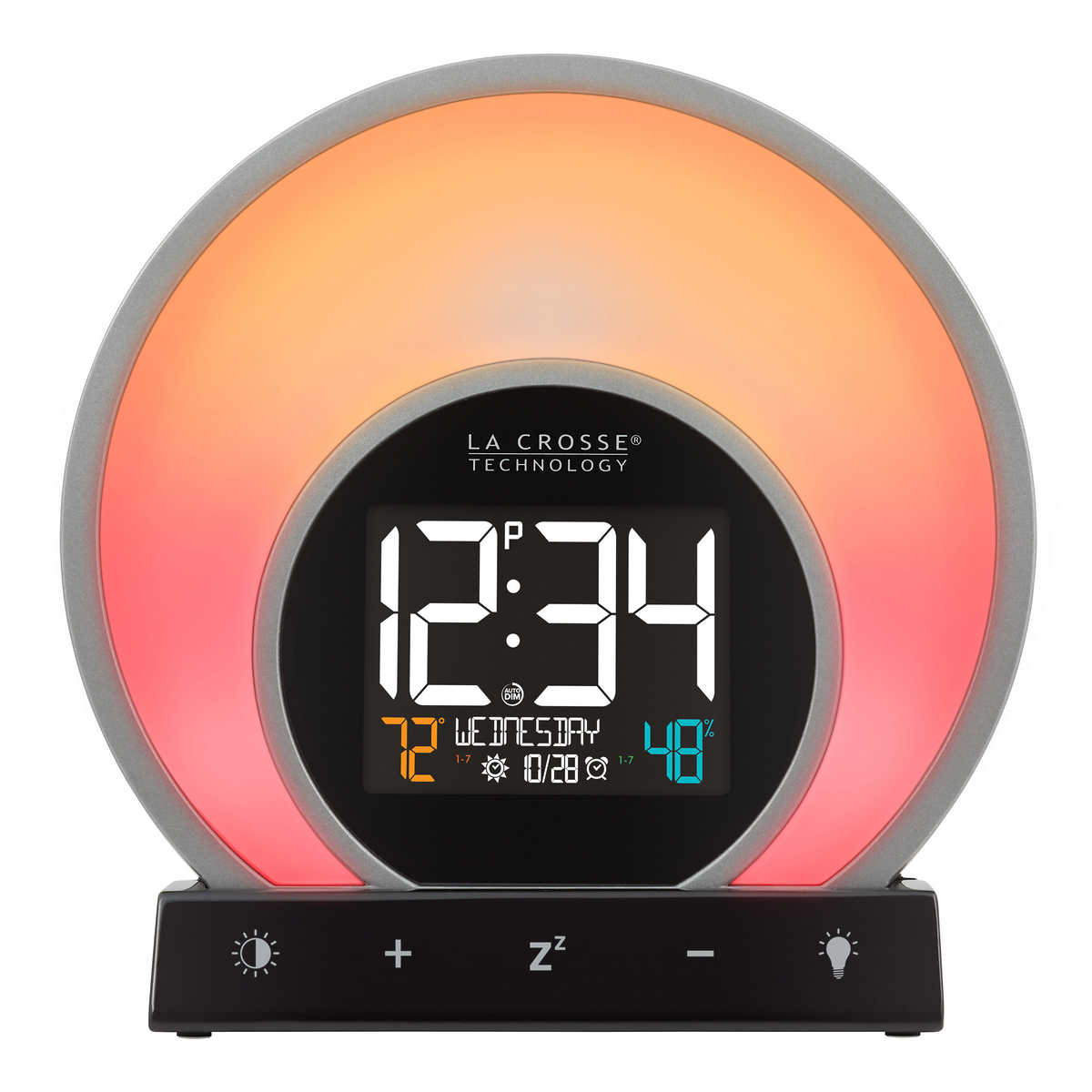 La Crosse Soluna Mood Light Alarm Clock