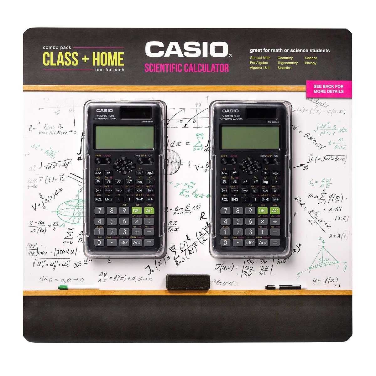 Casio Fx 300espls2 S 2nd Edition Scientific Calculator 2 Pack
