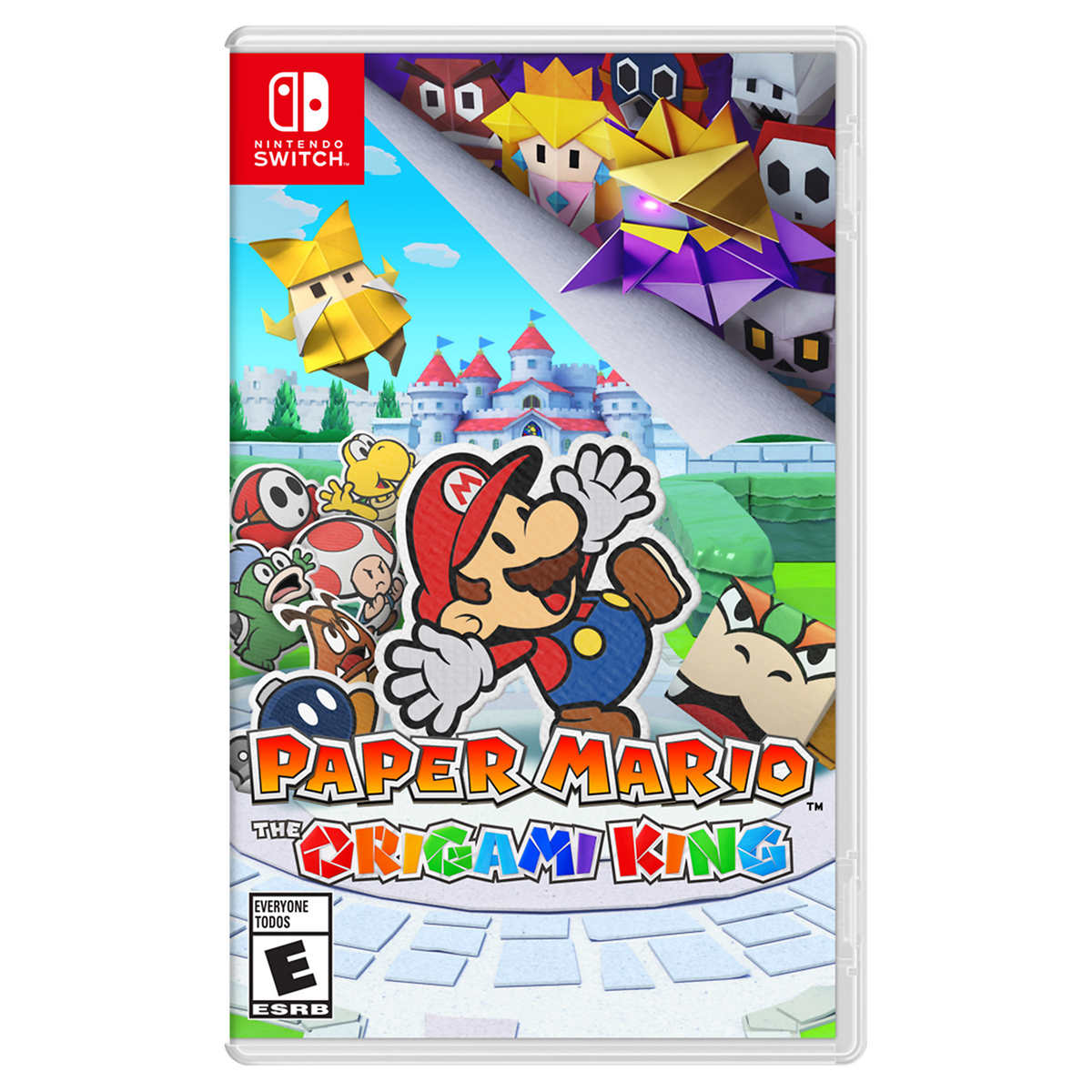 Paper Mario The Origami King Video Game