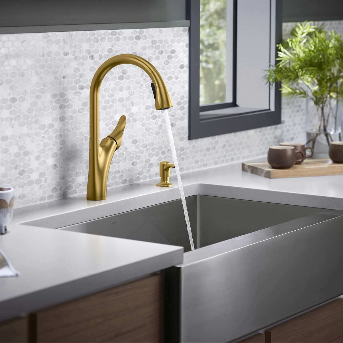 Kohler Transitional Touchless Kitchen Faucet Costco
