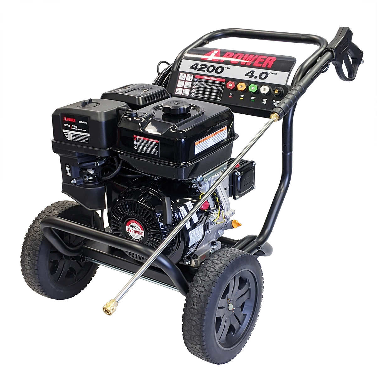 A Ipower 4200psi 4 0gpm Gas Pressure Washer