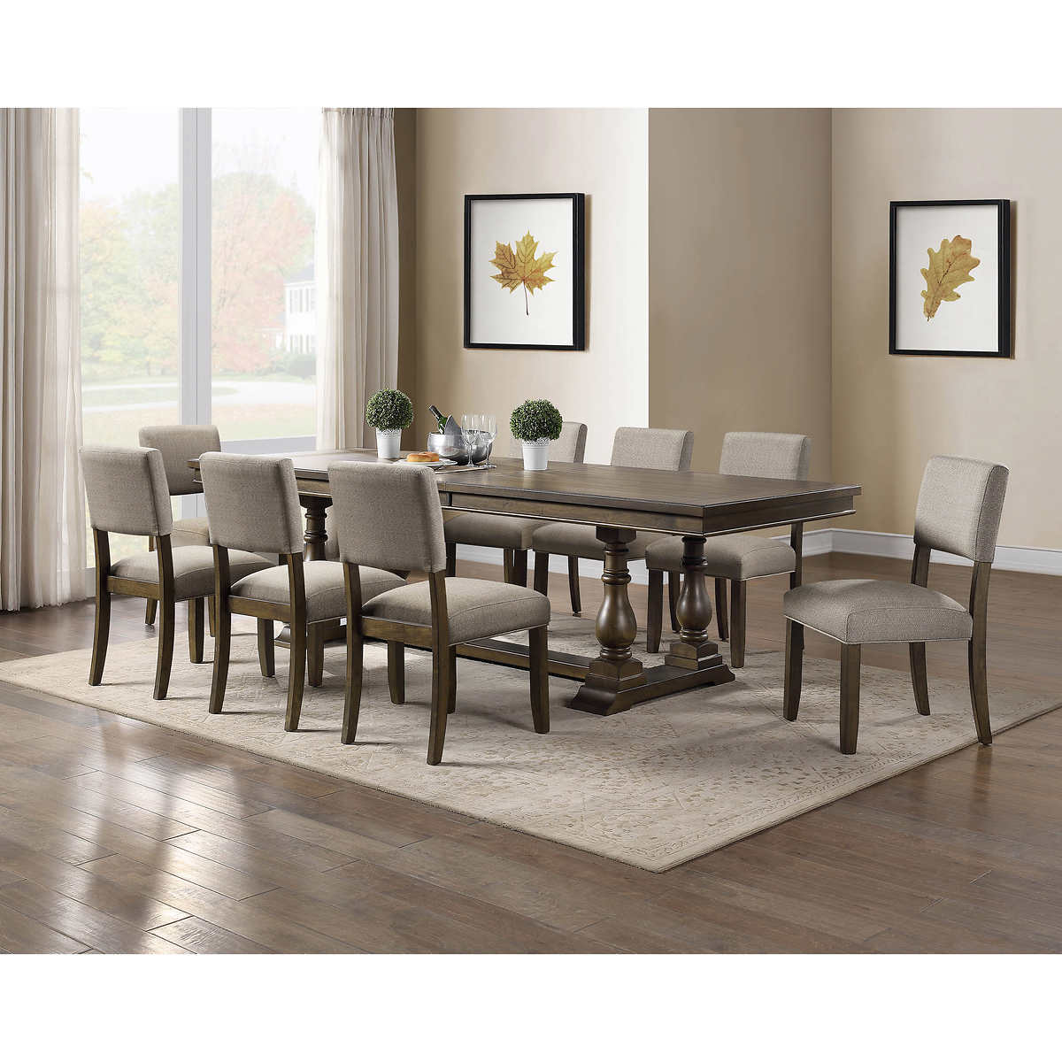 Thomasville Callan 9 Piece Dining Set