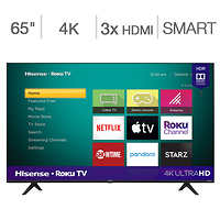 Deals on Hisense 65R6090G5 65-in Class R6 Series UHD LED LCD TV