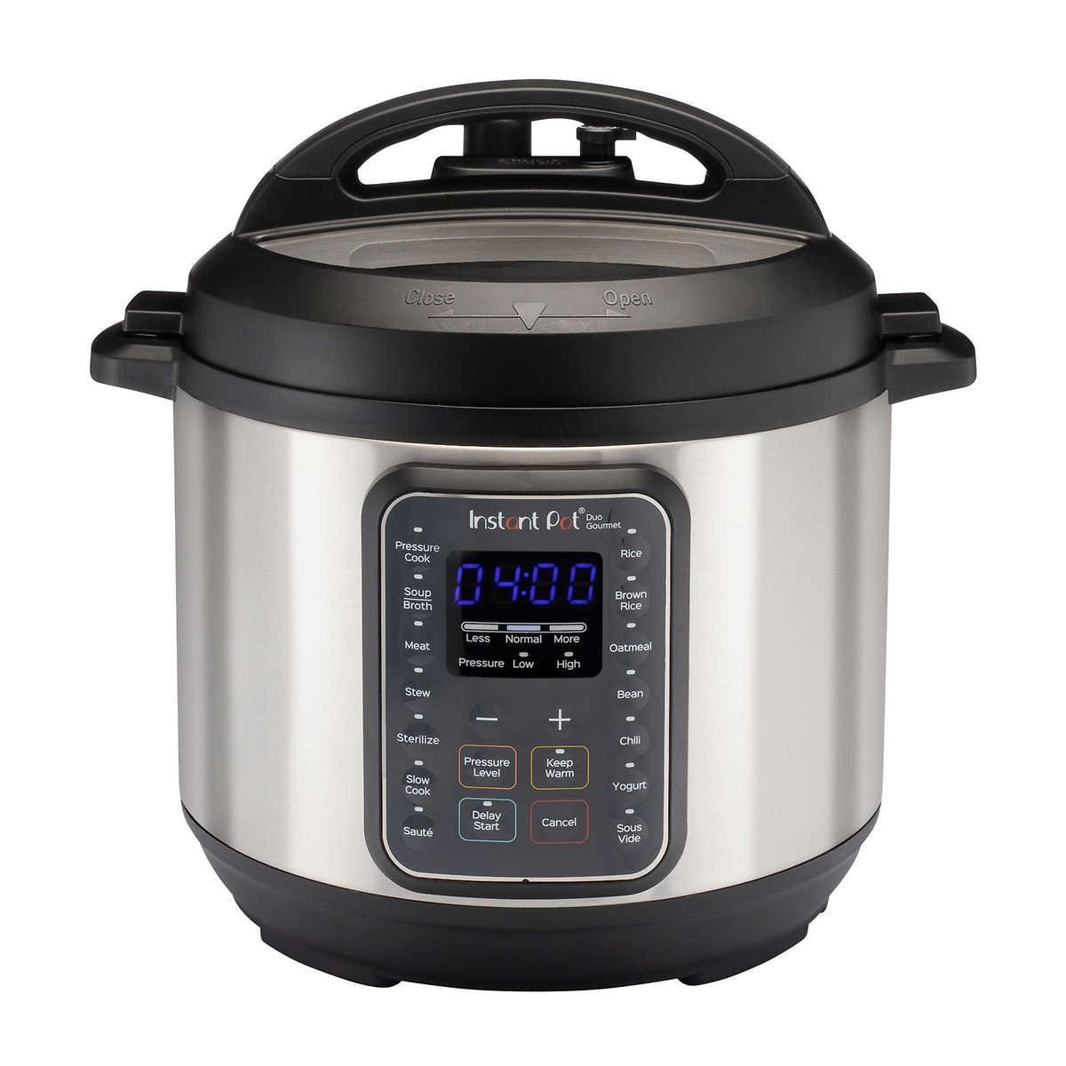 Instant Pot 6qt Duo Gourmet Multi Use Pressure Cooker