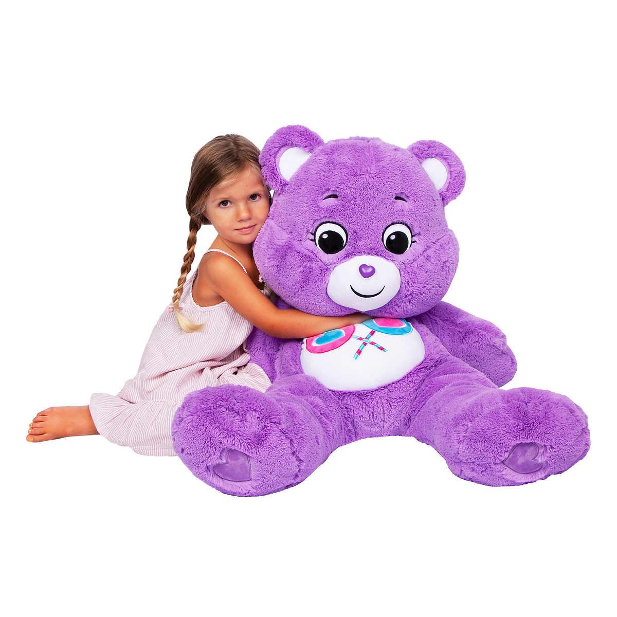 Message Recorder Stuffed Animals, Care Bear 36 Plush Share Bear