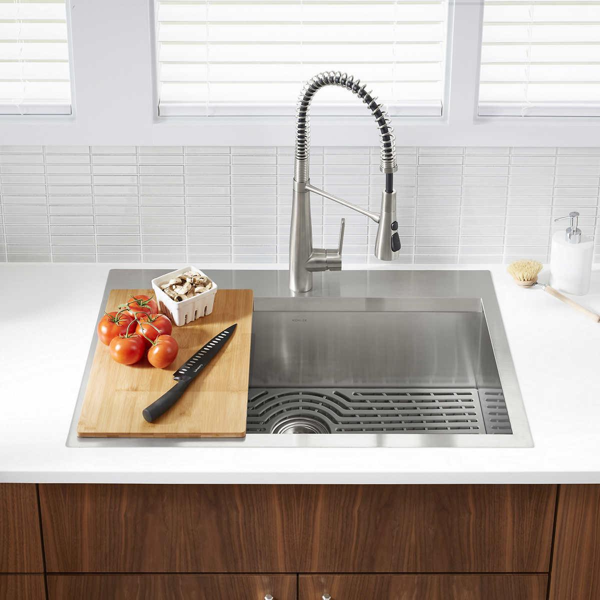 Kohler Pro Inspired Kitchen Sink Kit