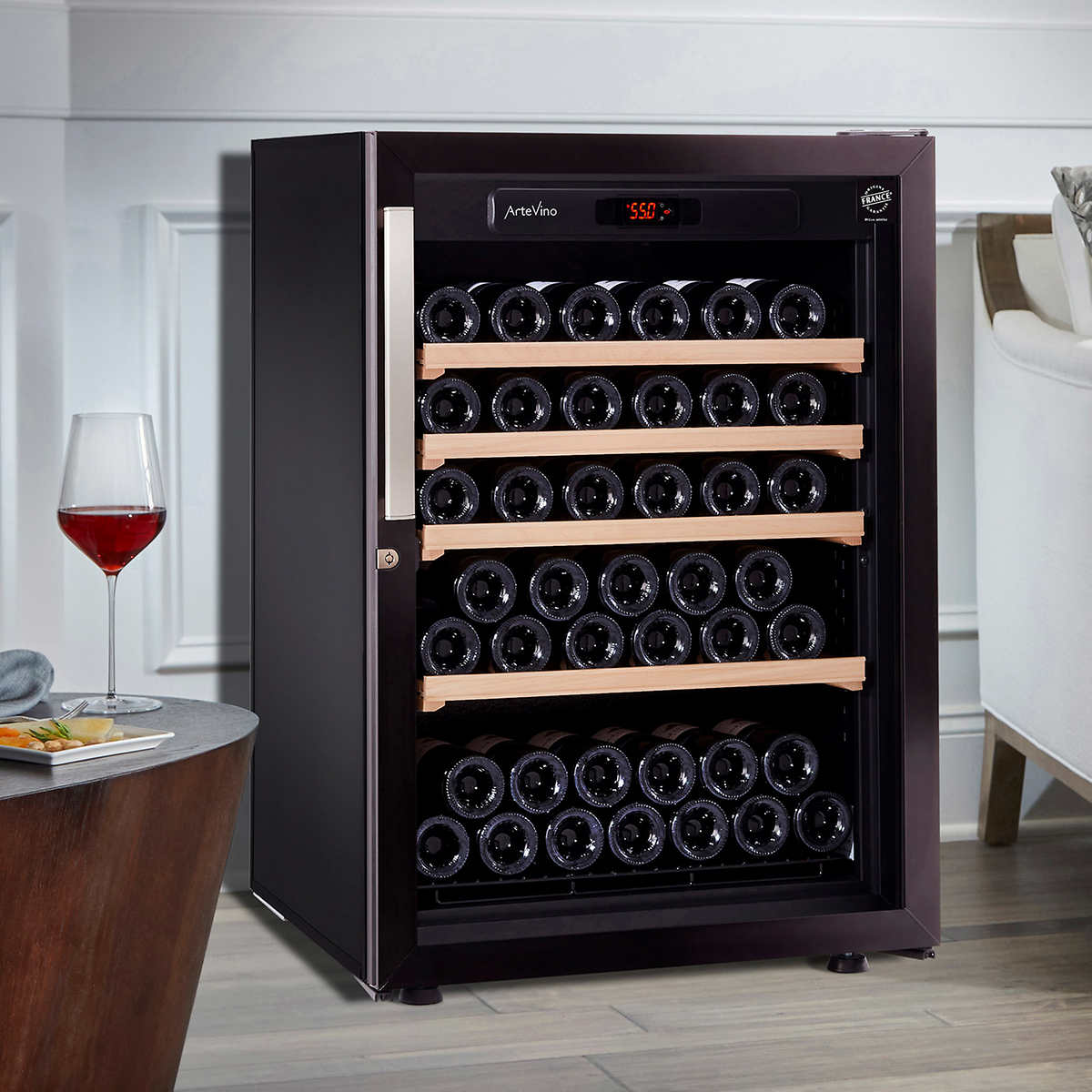 Artevino Iii S By Eurocave 90 Bottle Free Standing Wine Cellar