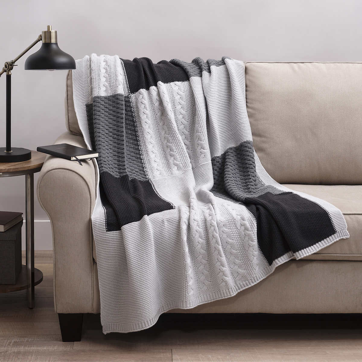Allied Home Sweater Knit Throw