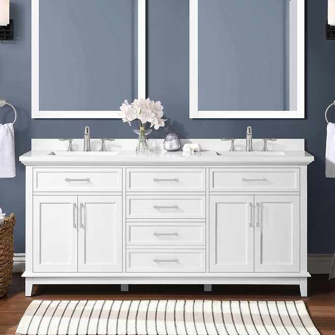 Ove Decors Dylan 72 Bath Vanity Costco, Ove Bathroom Vanities Costco