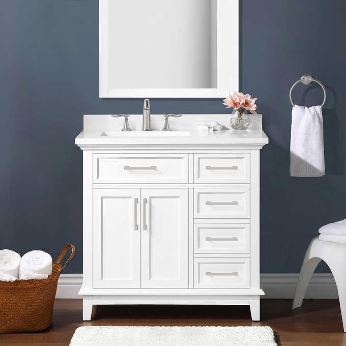 Ove Decors Dylan 36 Bath Vanity Costco, Ove Bathroom Vanities Costco