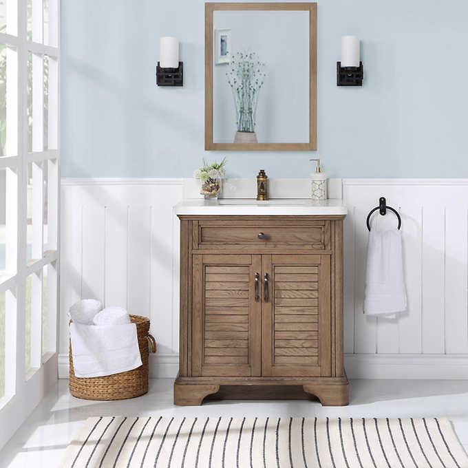 Northridge Home Augusta 30 Bath Vanity, Bathroom Vanities 30 Inch With Drawers