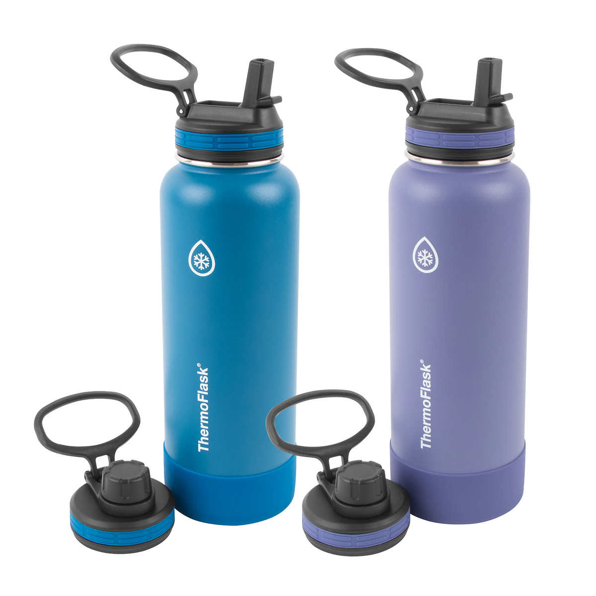 Thermoflask 40oz Insulated Stainless Steel Water Bottle 2 Pack