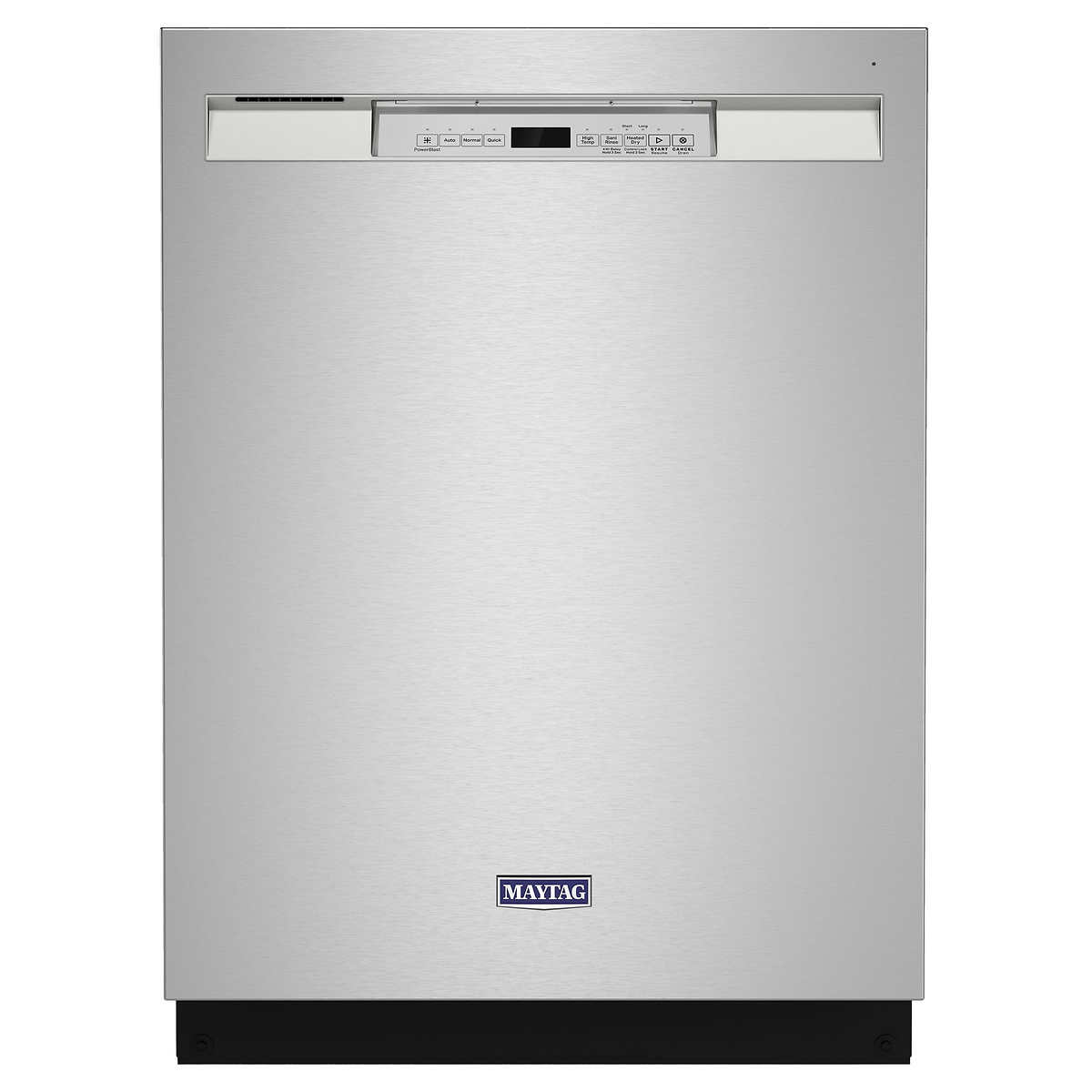 Maytag Front Control Dishwasher In Fingerprint Resistant Stainless Steel With Dual Power Filtration