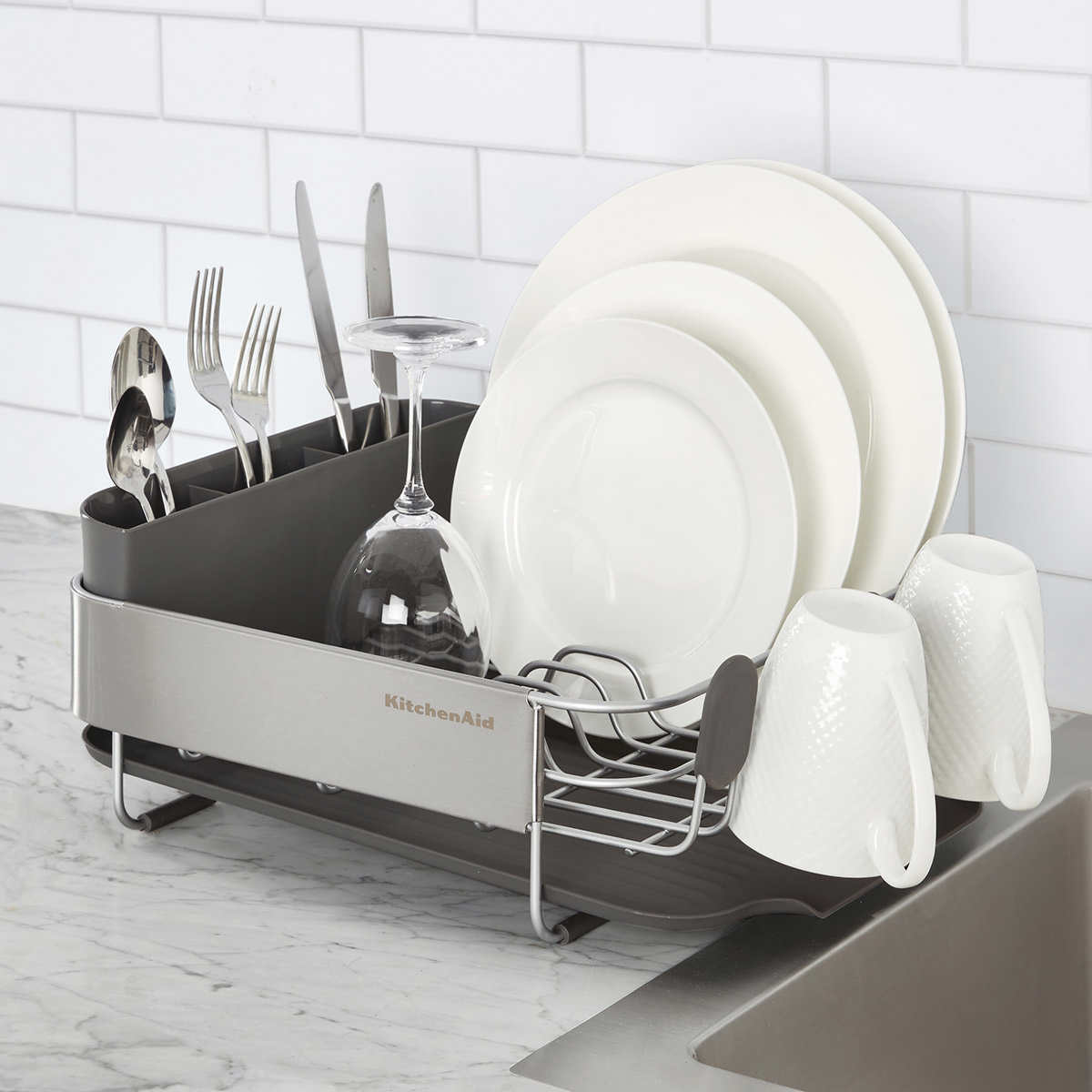 Kitchenaid Stainless Steel Compact Dish Drying Rack