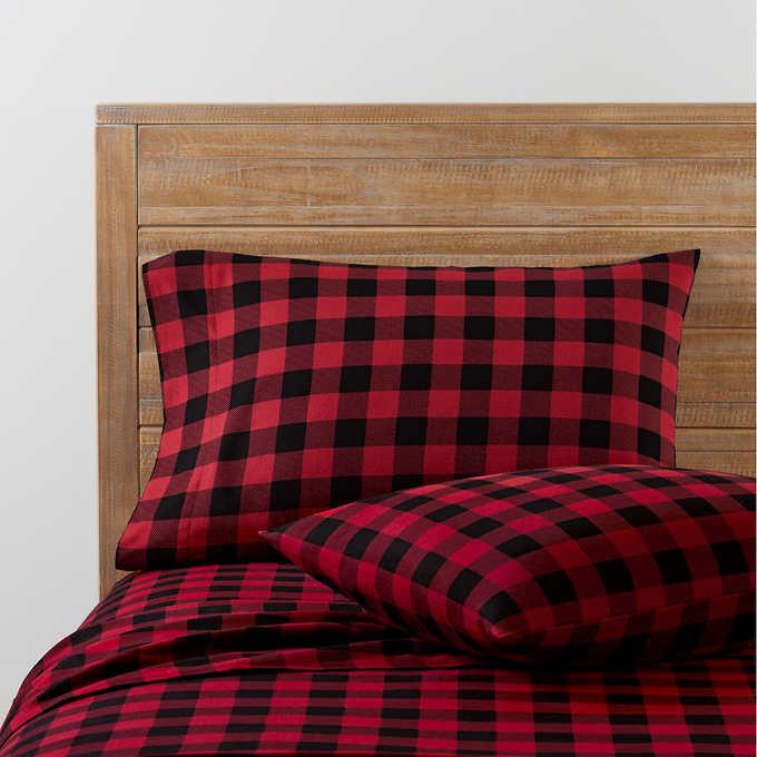 Pendleton 4 Piece Flannel Sheet Set