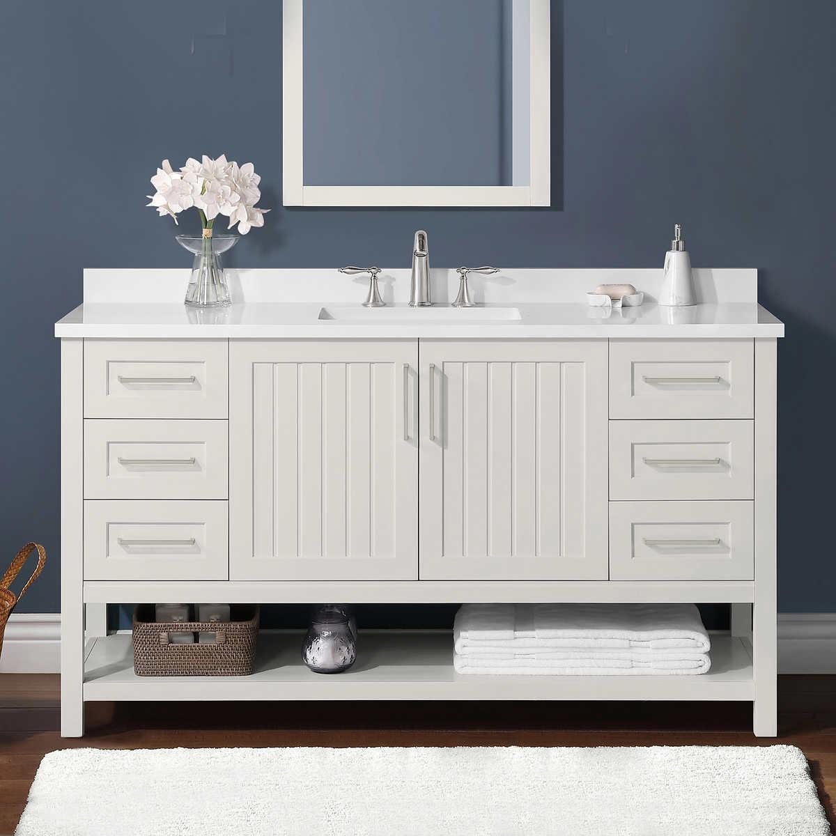 Westchester 60 Bath Vanity By Martha Stewart Costco