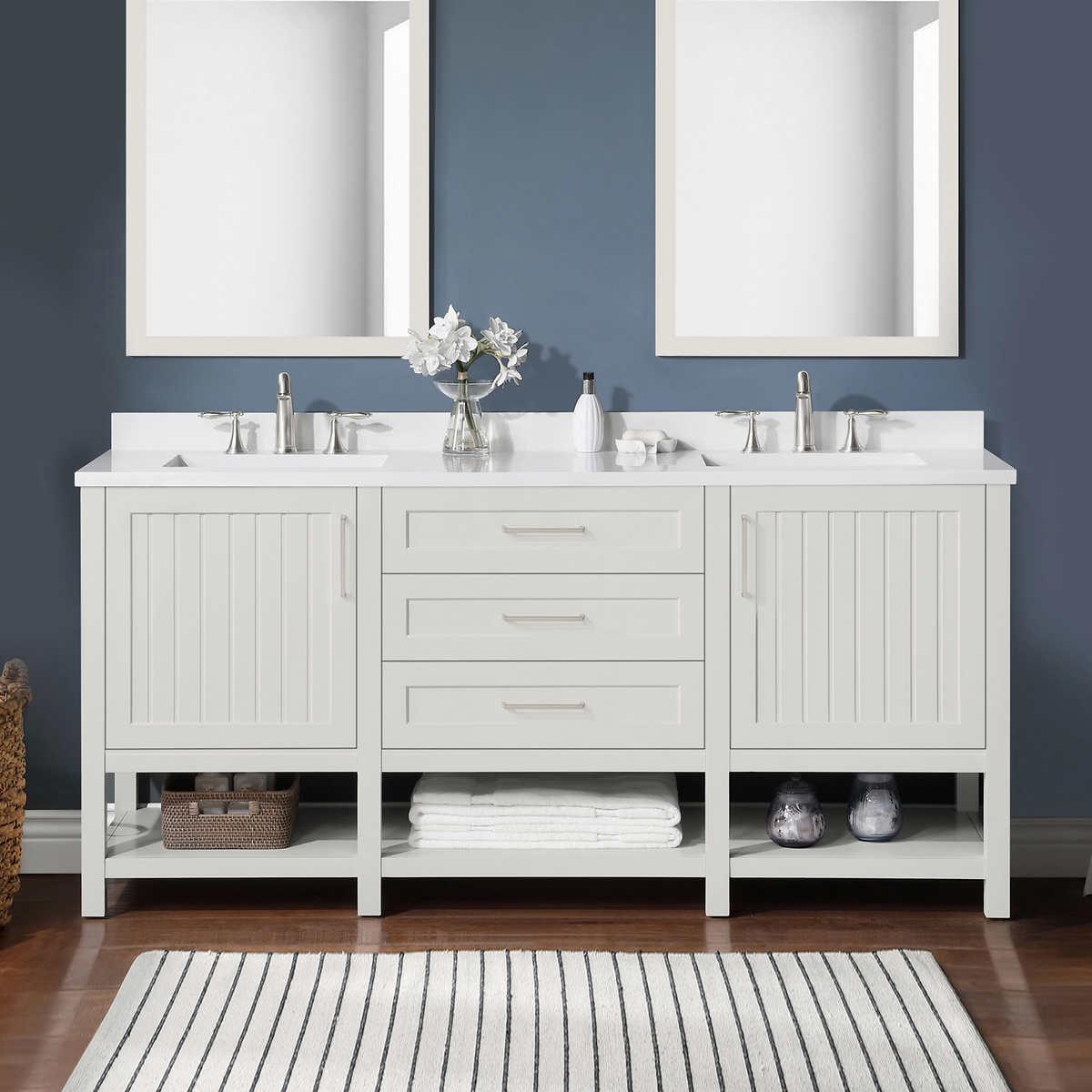 Westchester 72 Bath Vanity By Martha Stewart Costco