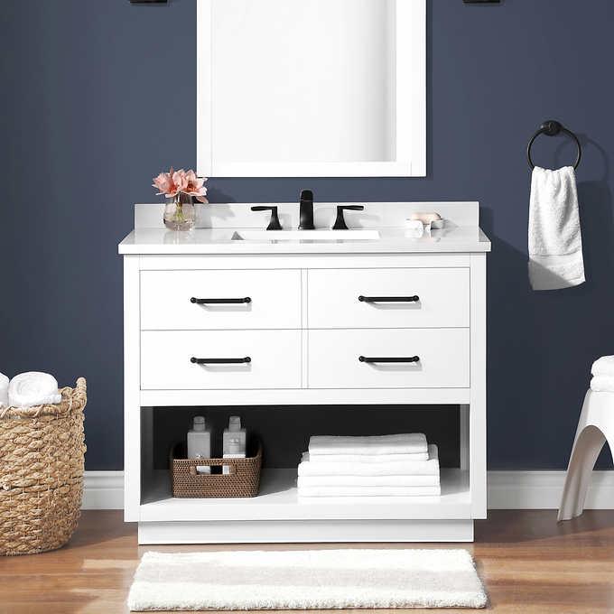 Ove Carson 42 Vanity Costco, Ove 42 Inch Bathroom Vanity Costco