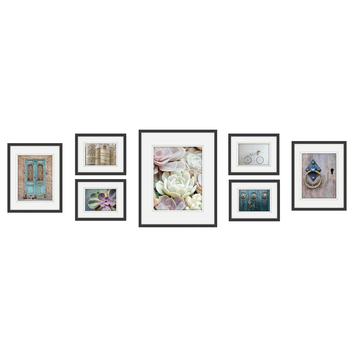 7 Piece Gallery Picture Frame Set